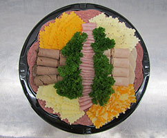 Deluxe Platter - Meat & Cheese Party Tray