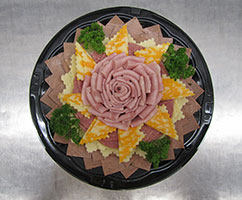 The Rose Garden - Meat & Cheese Party Tray